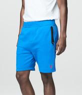 Prince & Fox Skinny Stripe Knit Jogger Shorts