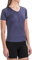 Pearl Izumi Canyon Cycling Jersey - Zip Neck, Short Sleeve (For Women)