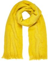 River Island Womens Yellow super soft scarf