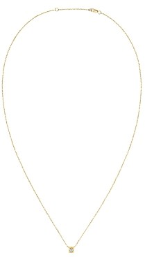 Dinh Van 18K Yellow Gold Le Cube Diamant Medium Chain Necklace with Diamond, 17.7