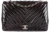 Chanel Chevron Jumbo Flap Bag