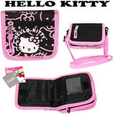 MJ Boutique Black- SANRIO Hello Kitty Wallet Purse Bag Cross Body Shoulder Kid Girl Gift
