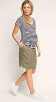 Esprit OUTLET maternity flowing cargo skirt