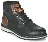 Tom Tailor LILLY men's Mid Boots in Black