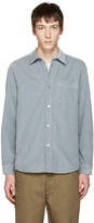 A.P.C. Grey Corduroy Trevor Shirt