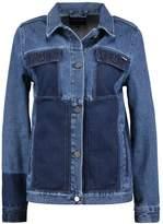 WÅVEN LANA Denim jacket peel blue