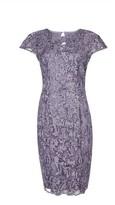 Dorothy Perkins Womens Showcase Mink Sequin 'Cade' Midi Dress