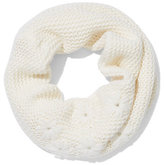 New York & Co. Knit Floral Infinity Scarf