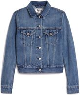 Acne Studios Top Denim Cropped Jacket