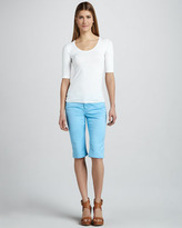 Liverpool Julia Short Capri Jeans