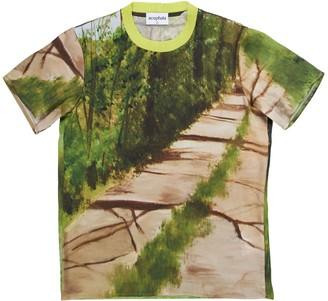 Acephala Printed Silk T-Shirt