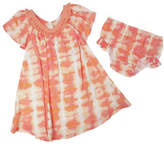 Jessica Simpson Two-Piece Dyed Dress and Bloomers Set