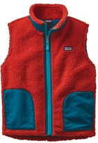 Patagonia Girl's Retro-X Windproof Fleece Vest