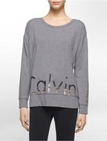 Calvin Klein Performance Oversized Logo Top
