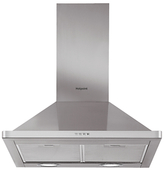 Hotpoint PHPN7.4FAMX Chimney Cooker Hood, Stainless Steel