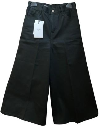 Celine Black Cotton Jeans