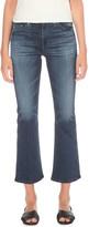 AG Jeans Jodie crop slim-fit flared jeans