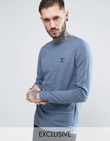 Barbour Jumper With Beacon Logo In Blue