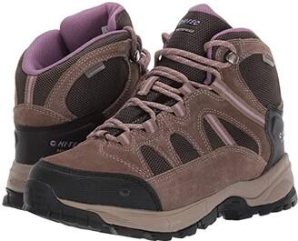 Hi-Tec Red Rock Mid Waterproof (Smokey Brown/Taupe/Very Grape) Women's Boots