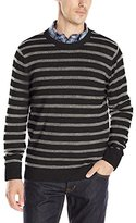 Nautica Men's Snow Cotton Stripe Sweater