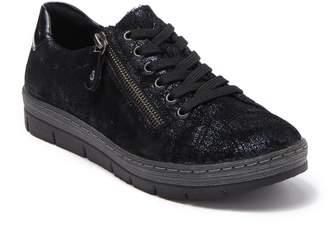 Remonte Kaja 00 Snake Print Leather Sneaker