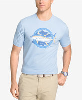 Izod Men's Big Fin Graphic Print T-Shirt