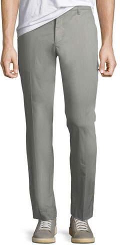 ATM Anthony Thomas Melillo Men's Garment-Washed Poplin Pants