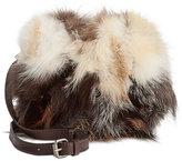 Patricia Nash Fox Multi Salerno Saddle Bag