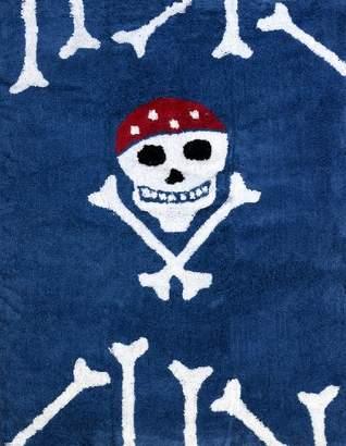 Camilla And Marc Aratextil Pirate Rug, Cotton, Marine Blue, 120 x 160 x 30 cm