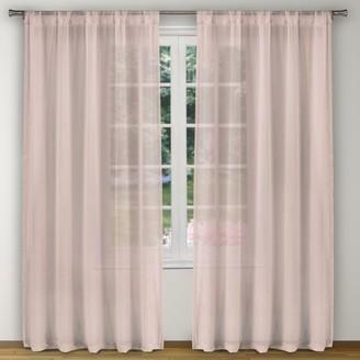 "Kensie Alison Pole Top Window Curtain Panel Pair Set of Two - 52X96"""