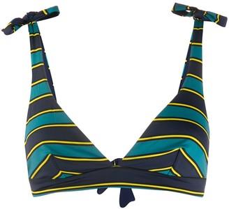 Fisico Striped Bikini Top