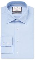 Thomas Pink Slim Fit Hopkins Textured Shirt