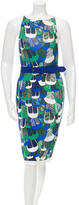 DSQUARED2 Sleeveless Printed Dress w/ Tags