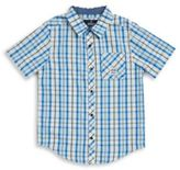 Buffalo David Bitton Boys Sunder Plaid Shirt