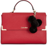 Calvin Klein Saffiano Top Handle Satchel