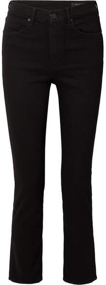 Rag & Bone Cigarette High-rise Slim-leg Jeans - Black