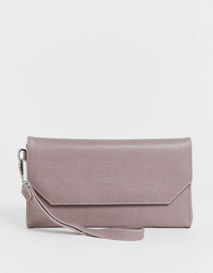 Matt & Nat foldover purse in orchid