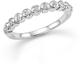 Bloomingdale's Diamond Band Ring in 14K White Gold, .20 ct. t.w. - 100% Exclusive