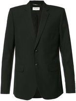 Saint Laurent classic blazer - men - Silk/Cotton/Wool - 48