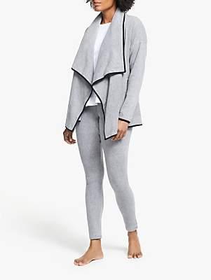 DKNY Fleece Cosy And Leggings Pyjama Set, Grey