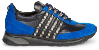 Balmain Lace-Up Low-Top Sneakers