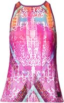 Matthew Williamson Aztec Print Tank Top