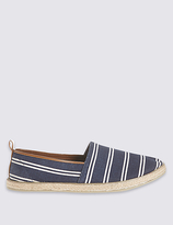 M&S Collection Striped Espadrilles Slip-on Shoes