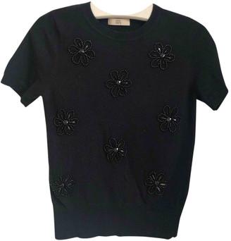 Orla Kiely Black Wool Knitwear