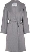 Max Mara Lilia Belted Cashmere Coat - Gray