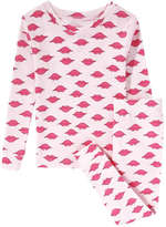 Joe Fresh Toddler Girls' Crew Neck Sleep Set, Light Pink (Size 2)