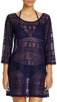 J Valdi Lace Tunic Swim Cover Up