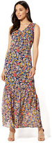 New York & Co. V-Neck Maxi Dress - Floral