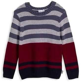 Splendid Little Boy's Slate Stripe Sweater