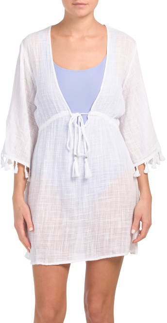 1ad42d490b9cbe Tassel Cover Up - ShopStyle